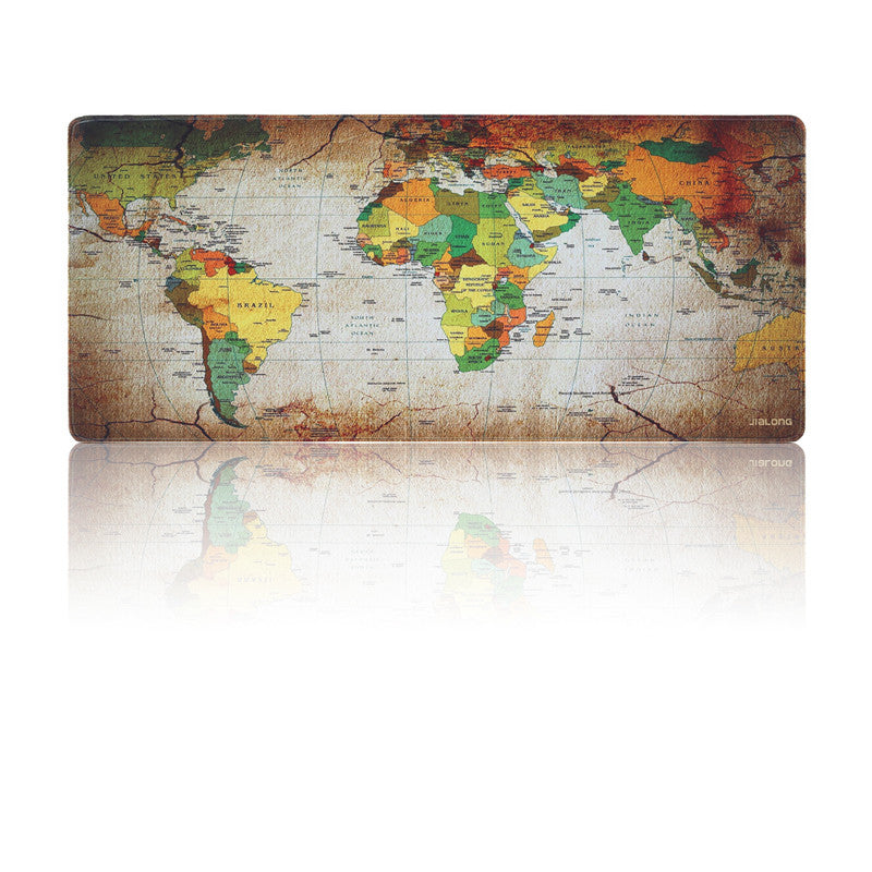 COLOURFUL WORLD Large World Map Mouse Pad