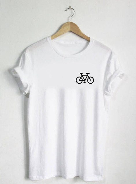 LIKE RIDING A BICYCLE Womens Tee