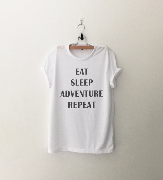 EAT SLEEP ADVENTURE REPEAT Women's Tee