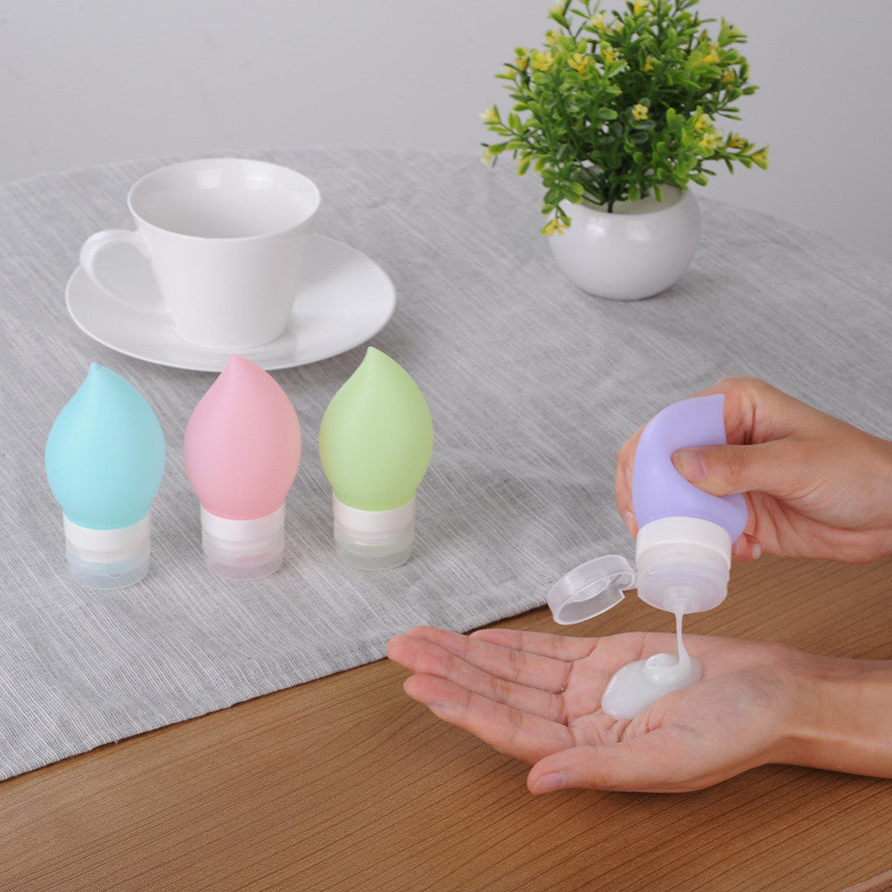 TEARDROP Silicone Travel Bottles (4PCS)