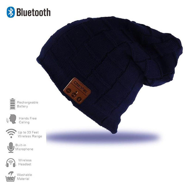 EASY TRAVELER Bluetooth Speaker Beanie