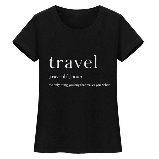 DEFINE TRAVEL Womens Tee
