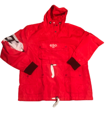 EGO Red Windbreaker