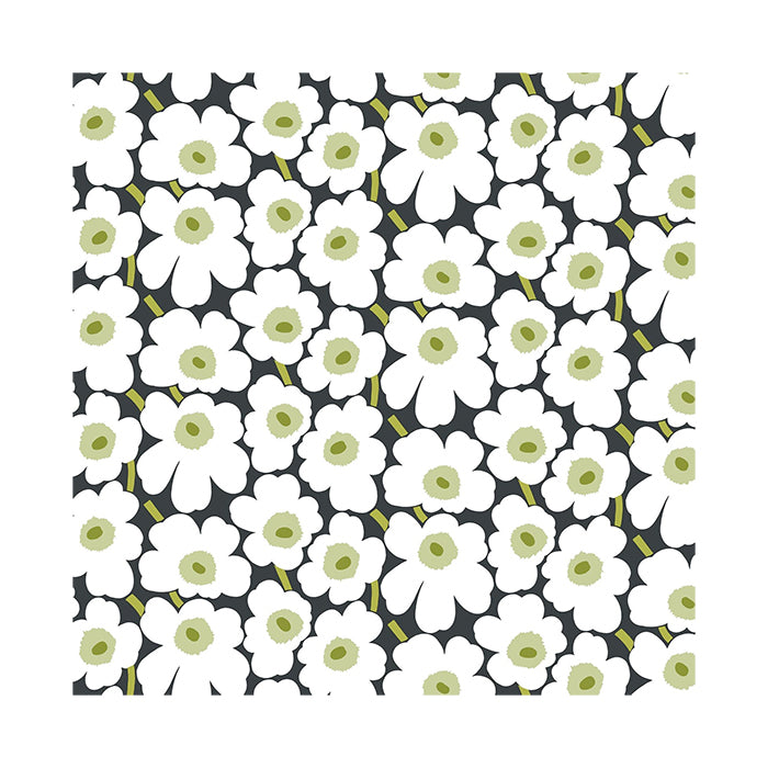 Marimekko Unikko - Black and White