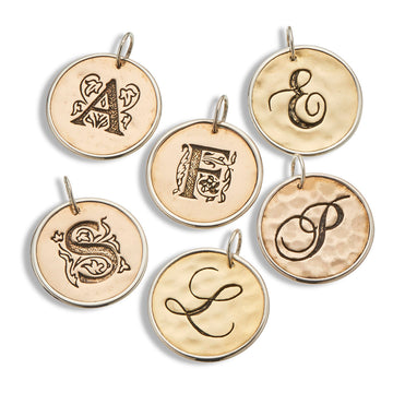 Palas Script Initial Charms