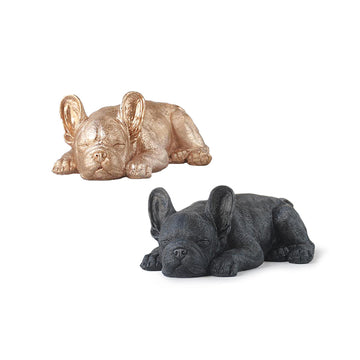 Sleeping Frenchie Statue