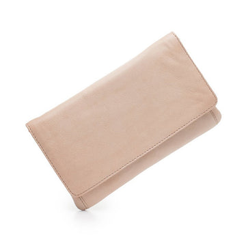 Sirena Leather Purse - Dusky Pink