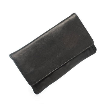 Sirena Leather Purse - Black