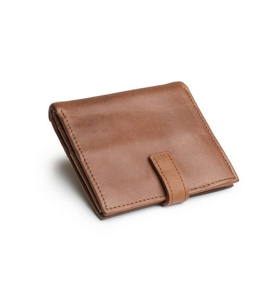 Tito Wallet in Light Brown leather