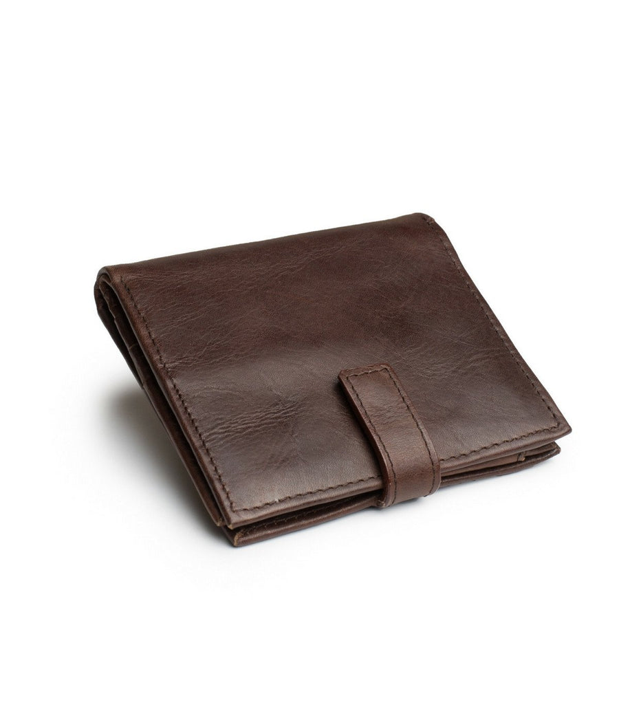 Tito Wallet in Brown leather