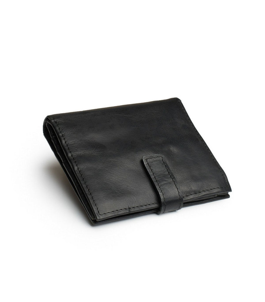 Tito Wallet in Black leather
