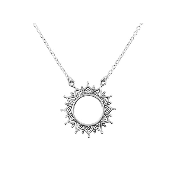 Open Soul Necklace - Silver