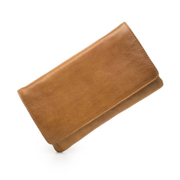 Sirena Leather Purse - Tan