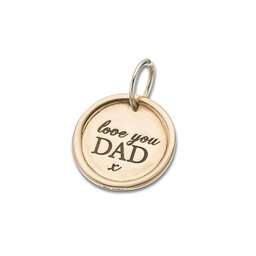 Palas Love You Dad Charm