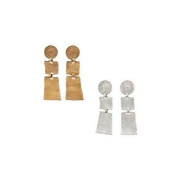 Milena Zu Sectioned Earrings