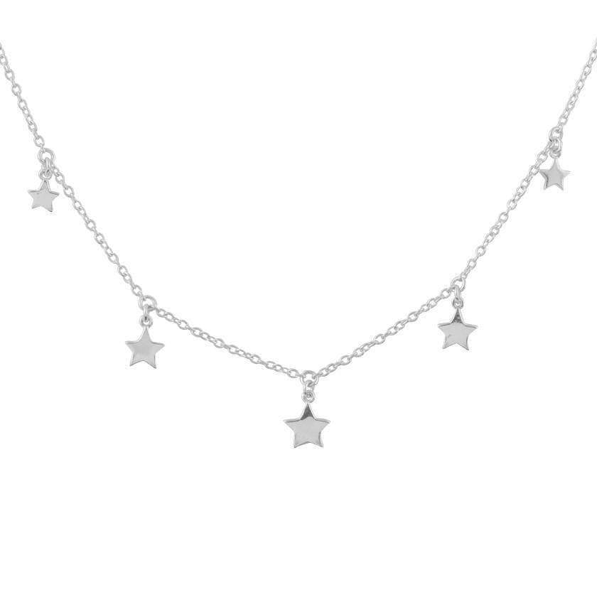 Star Light Necklace - Silver