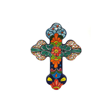 Mexican Large Talavera Cross