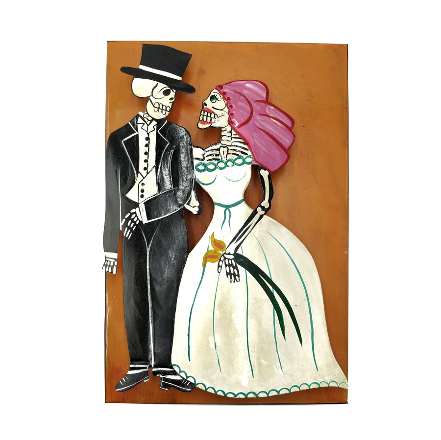 Mexican Bride and Groom Wall Decor