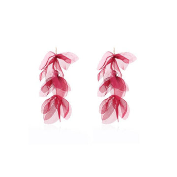 Long Petal Earrings