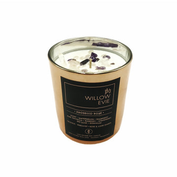 Willow Evie Candle - Prosecco Rose