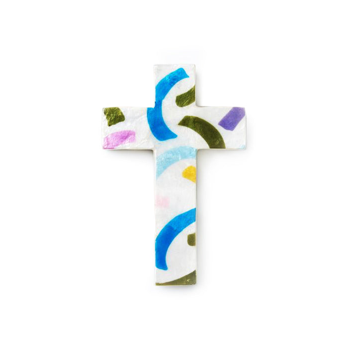 Tickertape Cross