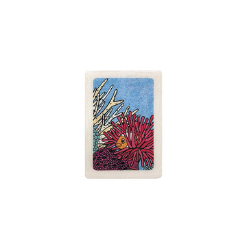 Clownfish Retreat Woodblock