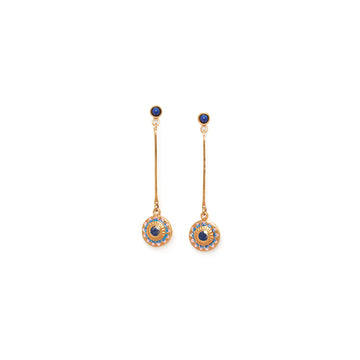 Franck Herval Sacha Shield Earrings