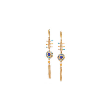 Franck Herval Sacha Chain Earrings