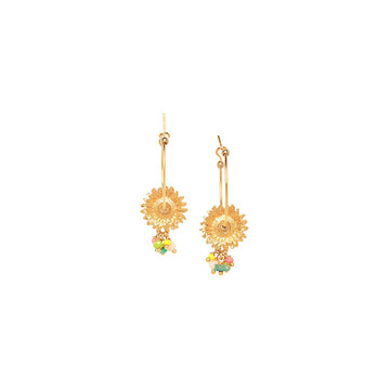 Franck Herval Felicie Hoop Earrings