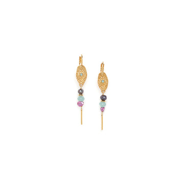 Franck Herval Marta Pearl Earrings