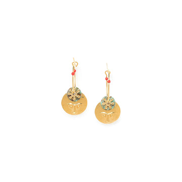 Franck Herval Tiwa Hoop Earrings