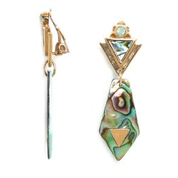 Franck Herval Elisa Clip-On Earrings