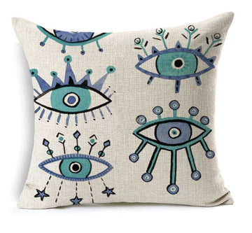 Evil Eye Cushion