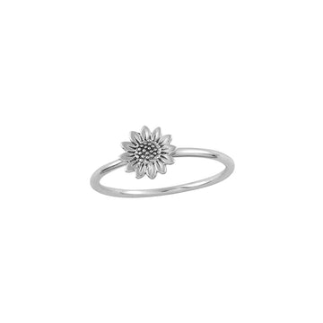Sunflower Ring - Silver