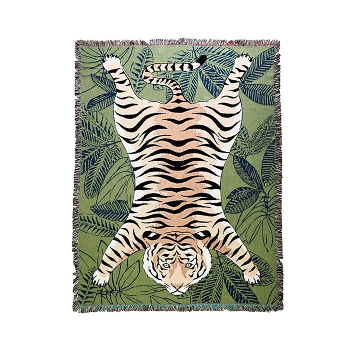 Tapestry Throw - Tiger