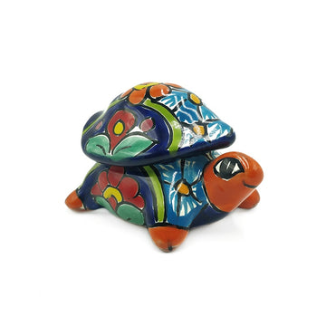 Mexican Talavera Turtle Box