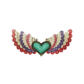 Mexican Colourful Winged Heart
