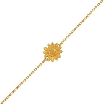 Sunflower Bracelet - Gold