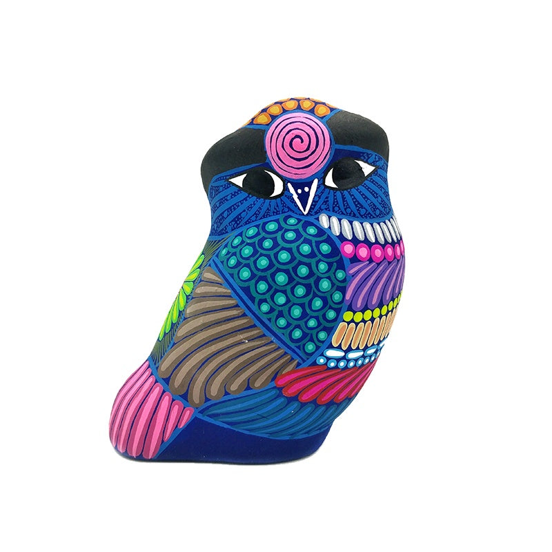 Mexican Ceramic Owl Figure