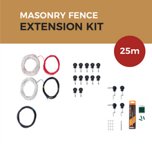Load image into Gallery viewer, Cat Proof Fence 25m Extension Kit - Masonry Fences | SmartCatsStayHome