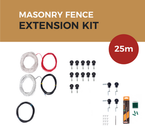 Cat Proof Fence 25m Extension Kit - Masonry Fences | SmartCatsStayHome