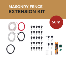 Load image into Gallery viewer, Cat Proof Fence 50m Extension Kit - Masonry Fences | SmartCatsStayHome