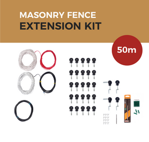 Cat Proof Fence 50m Extension Kit - Masonry Fences | SmartCatsStayHome