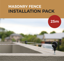 Load image into Gallery viewer, Cat Proof Fence 25m Installation Pack - Masonry Fences | SmartCatsStayHome