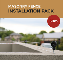 Load image into Gallery viewer, Cat Proof Fence 50m Installation Pack - Masonry Fences | SmartCatsStayHome