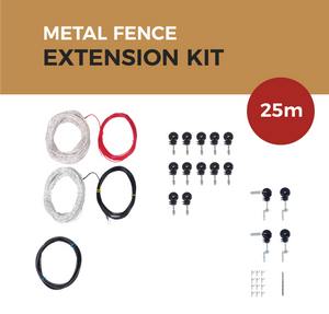 Cat Proof Fence 25m Extension Kit - Metal Fences | SmartCatsStayHome