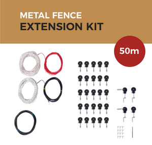 Cat Proof Fence 50m Extension Kit - Metal Fences | SmartCatsStayHome