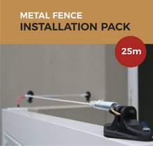Load image into Gallery viewer, Cat Proof Fence 25m Installation Pack - Metal Fences | SmartCatsStayHome