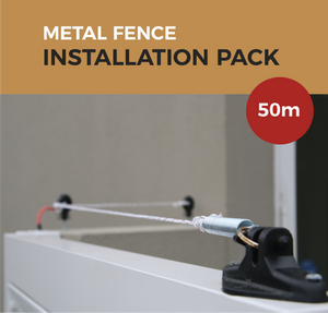 Cat Proof Fence Installation Pack - Colorbond Metal Fences 50m | SmartCatsStayHome