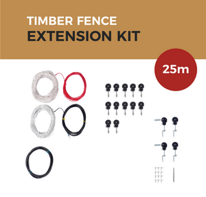 Cat Proof Fence 25m Extension Kit - Timber Fences | SmartCatsStayHome